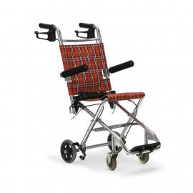 """Инвалидная кресло-каталка """"Армед"""", мод. 1100 (компактная, складная, с  ручными тормозами)"""