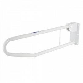 Откидной поручень металлический для туалета и ванной Barry 12321