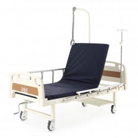 Кровать функциональная медицинская механическая Е-17В (двухсекционная, ММ-1014Н)