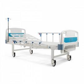 Кровать механическая медицинская двухсекционная Barry MB1psс матрасом