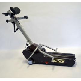 Гусеничный электрический подъемник для инвалидов БАРС-УГП-130 с выдвижным колесом (лестничный)