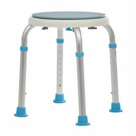 Табурет с поворотным сиденьем для ванной комнаты и душа LUX 565 Ortonica (стул)