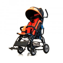 Детская инвалидная кресло-коляска Ника-02 для детей с ДЦП