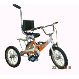 Велосипед-тренажер ВелоЛидер 16 для детей-инвалидов с ДЦП
