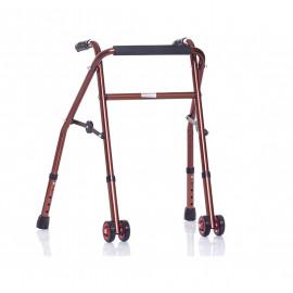 Детские инвалидные опоры-ходунки на колесах XR 209 (ролляторы для детей-инвалидов)