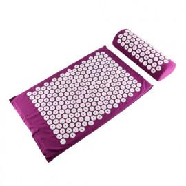 Комплект: массажный коврик, валик аккупунктурный (аппликатор игольчатый) F 0107 Fosta