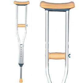 Костыли подмышечные с устройством против скольжения (под рост 140-160 см) 10021U