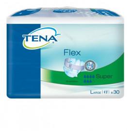 Подгузники для взрослых TENA FLEX SUPER 30 шт., размер L