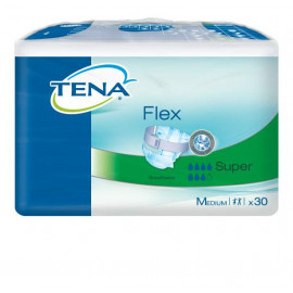 Подгузники для взрослых TENA FLEX SUPER 30 шт., размер М