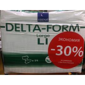 Подгузники для взрослых Абена Delta-Form L1 (25 шт/уп, впитываемость 2200)