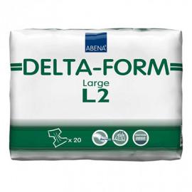 Подгузники для взрослых Абена Delta-Form L2 (20 шт/уп, впитываемость 2700)