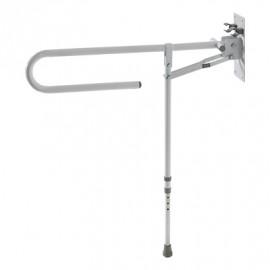 Поручень откидной металлический для туалета и ванной Barry 12313