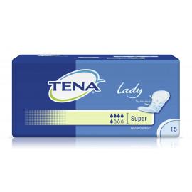 Прокладки урологические при недержании женские TENA Lady Super, 15 шт