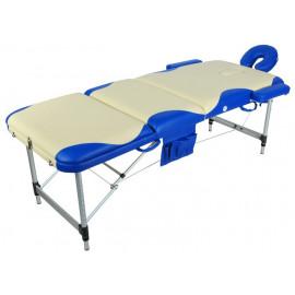 Стол массажный переносной на алюминиевой раме JFAL01A 3-х секционный  (МСТ-102Л)