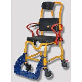 """Туалетно-душевой стул-кресло для детей с ДЦП """"Аугсбург"""" (REBOTEC) с подголовником и боковыми поддержками 339.05.97"""