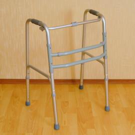 Ходунки опорные для взрослых шагающие/шагающие, складные FS 915 L