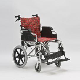 Кресло-каталка (коляска) для инвалидов с тормозами для сопровождающих лиц FS907LAВH ( FS 901 Q)