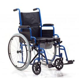 Кресло-коляска с санитарным оснащением Ortonica TU 55 (Туалет на колесах)