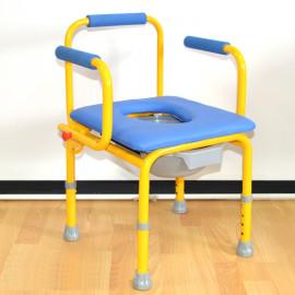 Кресло-туалет для детей-инвалидов FS 813 (размер S, детский санитарный стул)