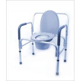 Кресло-туалет для полных людей с санитарным оснащением 10589