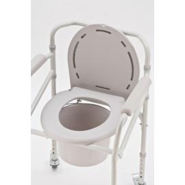 Кресло-туалет с санитарным оснащением на колесах Armed FS 693 (H 023B)