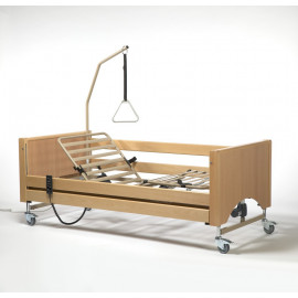 Кровать для лежачих больных функциональная 4-х секционная электрическая Vermeiren LUNA (в комплекте с матрасом)