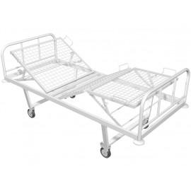 Кровать медицинская механическая трехсекционная КМ-03