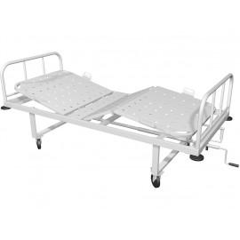 Кровать медицинская механическая трехсекционная КМ-04