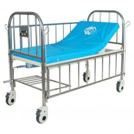 Кровать медицинская подростковая механическая Med-Mos F-45 (ММ-97СН) с матрасом