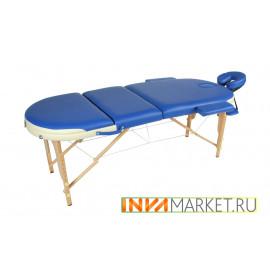 Массажный стол деревянный складной JF-OVAL MK