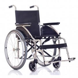 Облегченная инвалидная алюминиевая кресло-коляска Ortonica Base 100-al