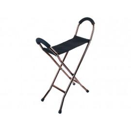 Опорные ходунки-стул OPTIMAL-DELTA  LY-508 (опора трость с сиденьем)