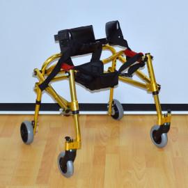 Опоры-ходунки ортопедические на 4-х колесах детские HMP-KA 1200 (для детей с ДЦП) с подлокотной опорой