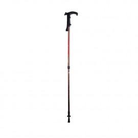 Палки телескопическая для скандинавской ходьбы STC 035 с рукояткой-тростью