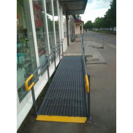 Пандус для инвалидных и детских колясок по ГОСТу (под заказ, за м.п.)