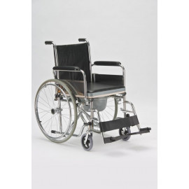 "Кресло-коляска с санитарным оснащением FS 682 ""АРМЕД"" (FS681, туалет каталка)"