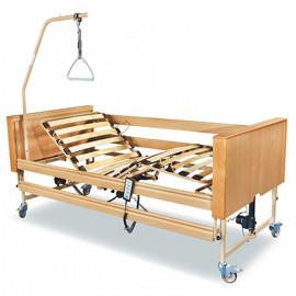 Кровать медицинская с электроприводом Dali II с матрацем и декоративными накладками